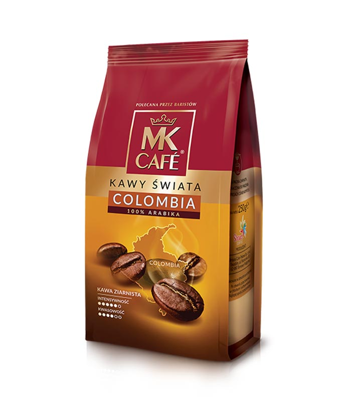 MK Cafe Colombia Coffee Beans