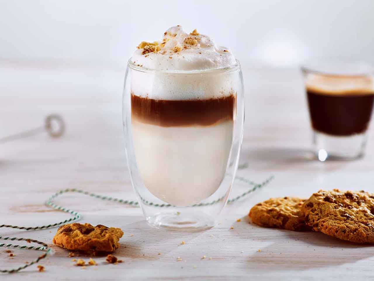 cookie Latte for cold day