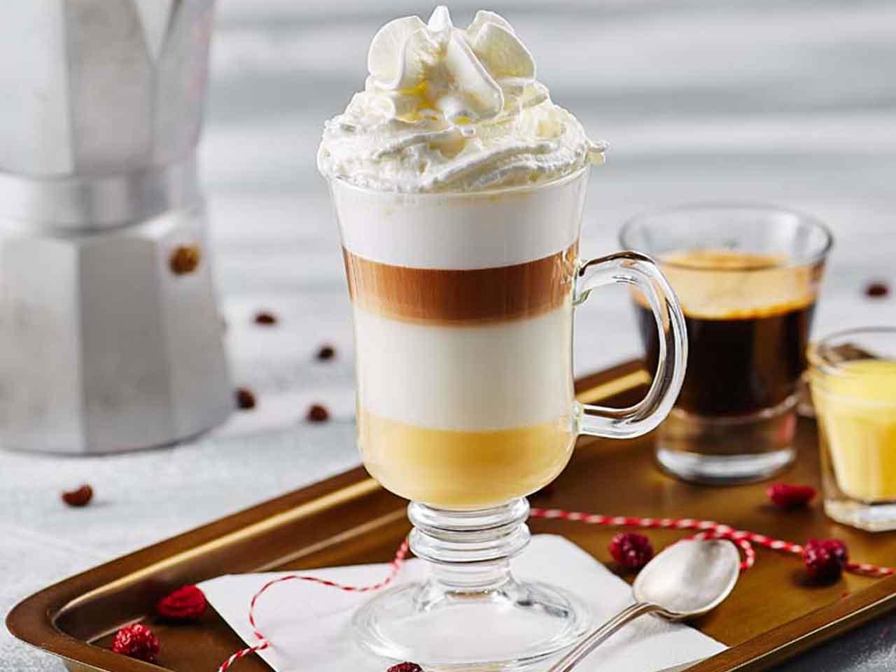 Eggnog Latte for cold day