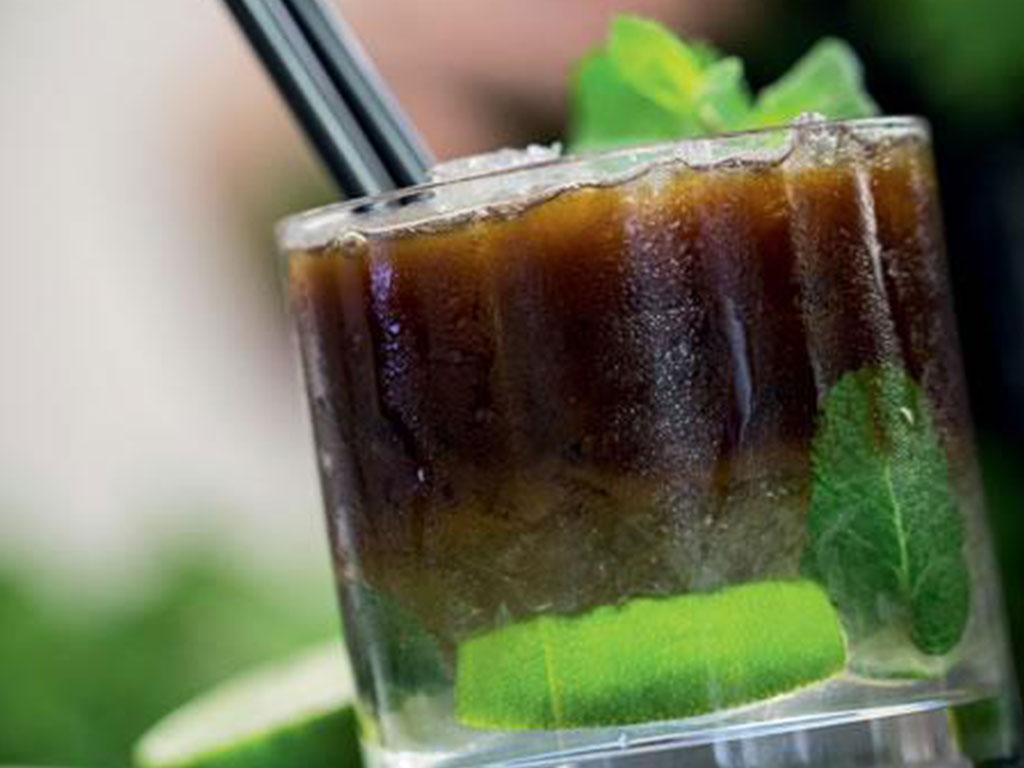 Espresso Mojito with MK Cafe Brasil coffee