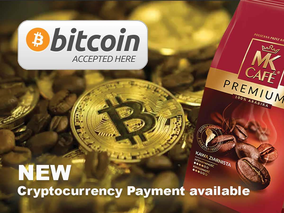 Cryptocurrency Payments available