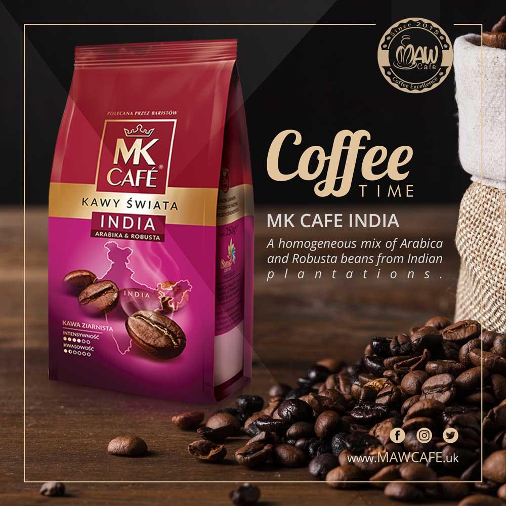 MAW Cafe MK Cafe India Coffee