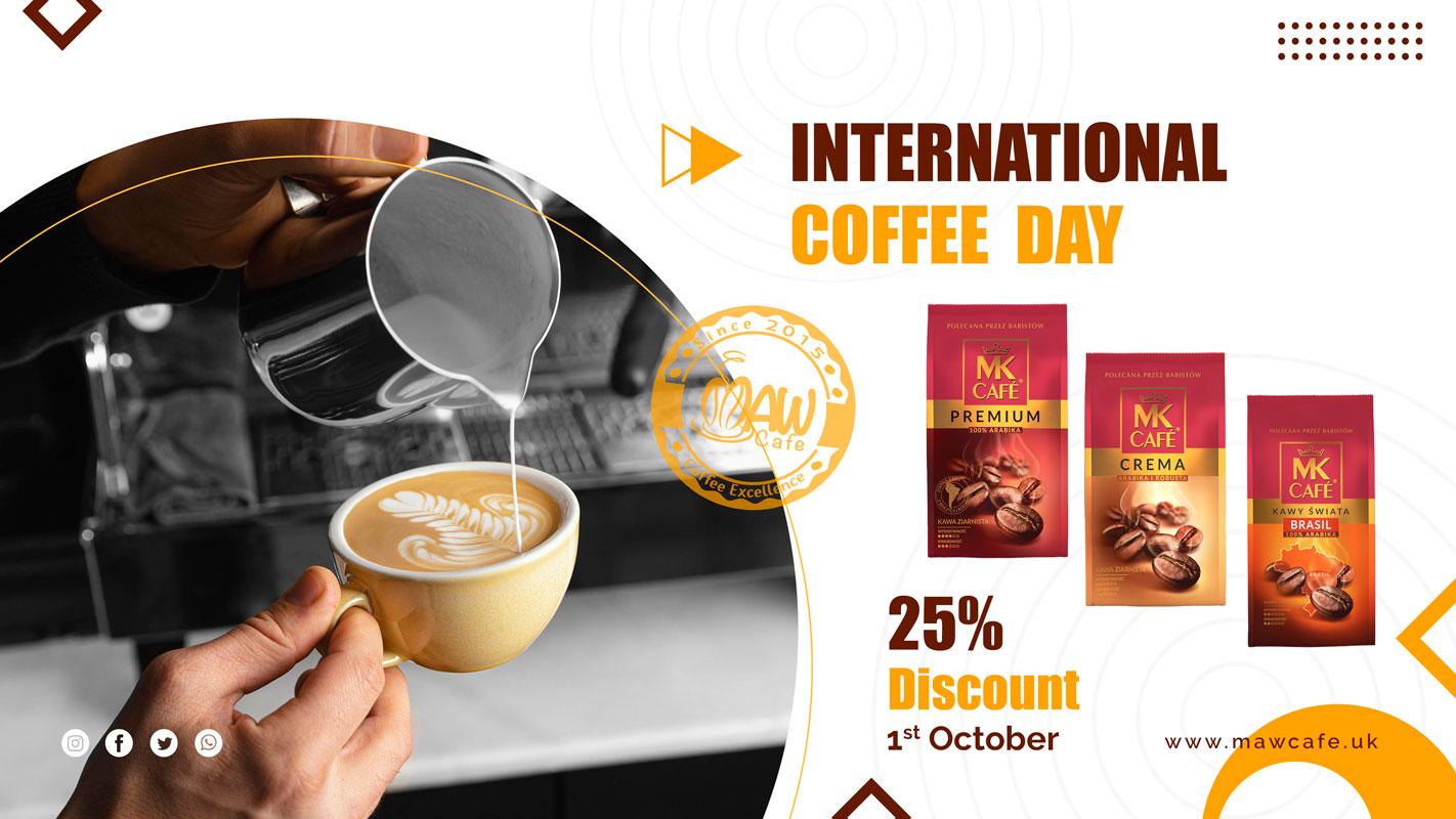 MAW Cafe International Coffee Day